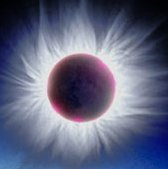 Solar Corona graphic by F. Espenak